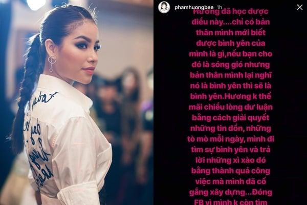 Hình ảnh Giữa tin đồn tình ái với đại gia, Hoa hậu Phạm Hương dãi bày lý do xóa sổ facebook số 1