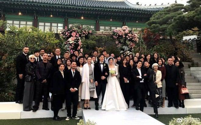 Những đám cưới có dàn khách mời khủng nhất xứ Hàn: Toàn minh tinh, Song Song không đọ được với Jang Dong Gun? - Ảnh 9.