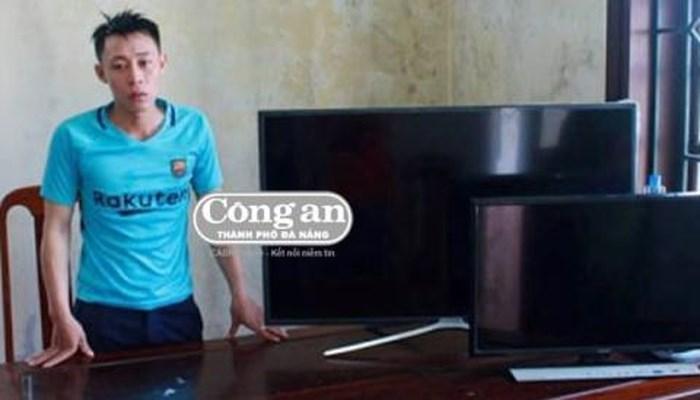 Thanh niên lẻn vào nhà dân trộm 2 chiếc tivi màn hình phẳng để xem World Cup 1
