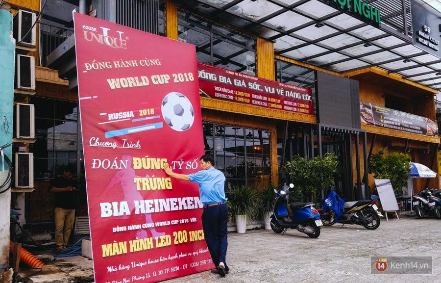 """Quán nhậu giảm giá, siêu thị ở Sài Gòn tung khuyến mãi """"ăn theo"""" mùa World Cup 2018 để hút khách 8"""