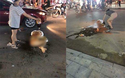 Công an Thanh Hóa thông tin vụ cô gái bị hành hung, lột đồ giữa phố 1