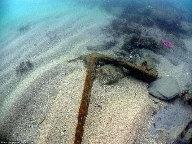 Phát hiện phần sót lại của tàu kim cương sau 334 năm nằm dưới lòng đại dương - Ảnh 3.