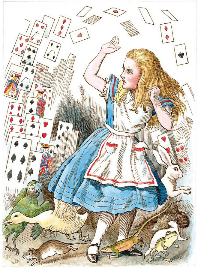 Alice ở xứ sở thần tiên: Câu chuyện trẻ em nhuốm màu đen tối và cuộc đời Alice ngoài đời thật khiến nhiều người ngỡ ngàng 2
