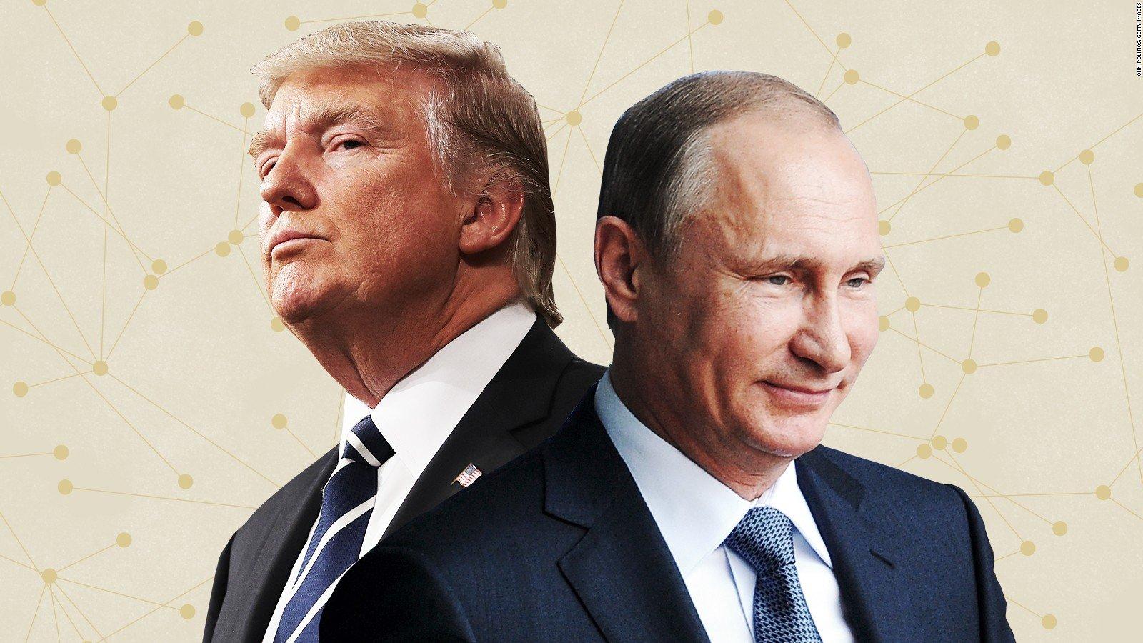 Hình ảnh Tổng thống Putin mách nước cho ông Trump về vấn đề Triều Tiên số 1