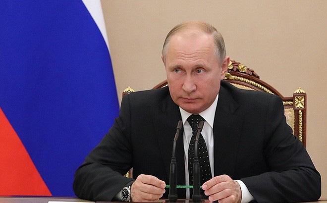Hình ảnh Tổng thống Putin bất ngờ