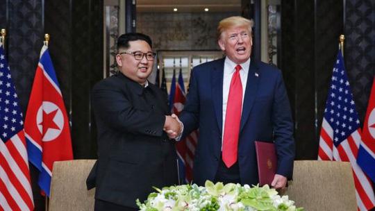 Hình ảnh Triều Tiên tung hô Thượng đỉnh Mỹ - Triều số 1