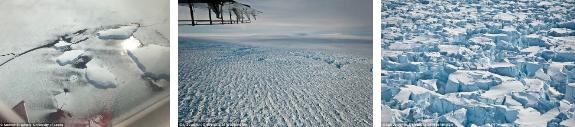 Không thể tưởng tượng - chỉ trong 25 năm, lượng băng tan tại Nam Cực đã lên tới 3 nghìn tỷ tấn! 3