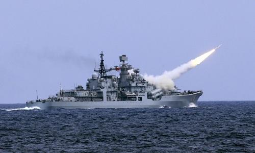 Trung Quốc diễn tập phòng không tại biển Đông 1