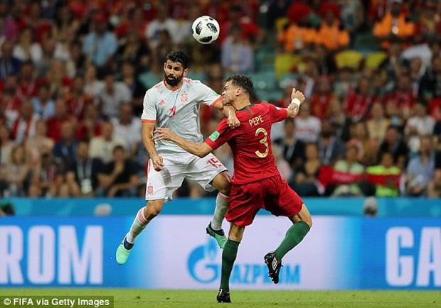 Bồ Đào Nha 3-3 Tây Ban Nha: Cả thế giới ngả mũ thán phục Ronaldo 4