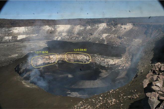 Dùng drone quan sát miệng núi lửa vừa tàn phá Hawaii, chuyên gia phát hiện điều đáng sợ! - Ảnh 2.