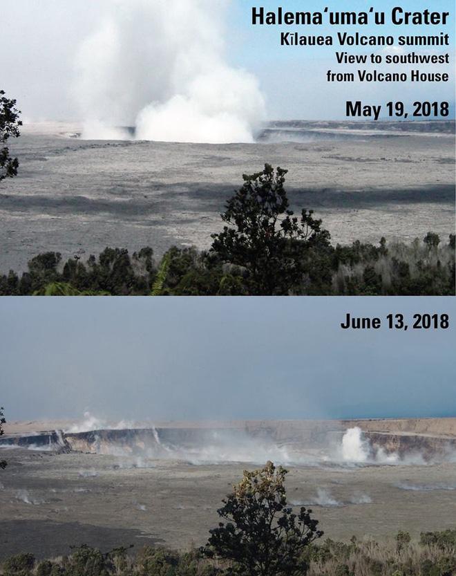 Dùng drone quan sát miệng núi lửa vừa tàn phá Hawaii, chuyên gia phát hiện điều đáng sợ! - Ảnh 5.