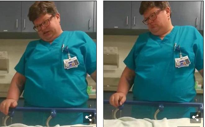 Bệnh nhân khó thở, phản ứng lạ của bác sĩ trong phòng cấp cứu gây bức xúc 2