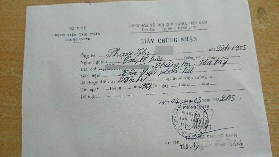 Sau khi bị phát giác ở Hà Nội, bà cụ có giấy chứng nhận tâm thần tiếp tục trộm cắp vặt ở Hải Dương 4