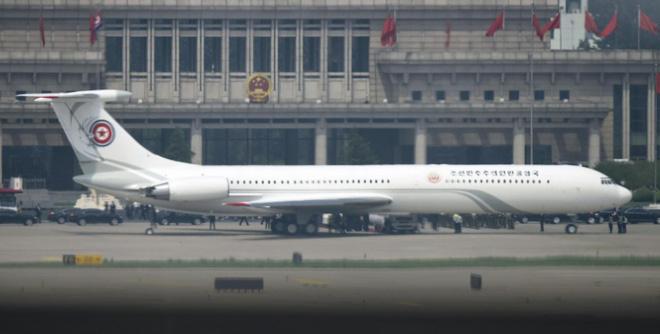 Những hình ảnh đầu tiên của đoàn xe hộ tống ông Kim Jong-un tại Bắc Kinh 3
