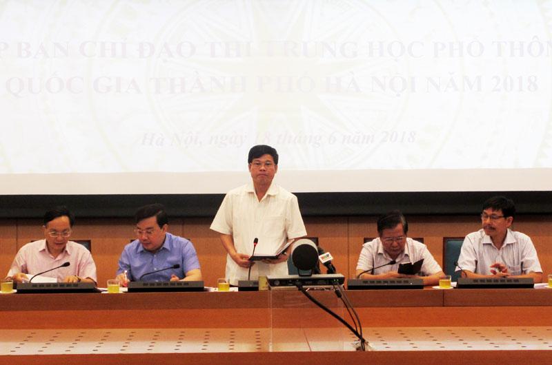 Hà Nội: Lập đường dây nóng phục vụ kỳ thi THPT quốc gia 1