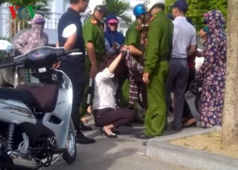 Nghi vấn cô gái ở Thanh Hóa bị đánh ghen sau khi rời chi cục Thuế 1