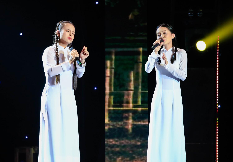 Cẩm Ly xuất thần hóa mẹ điên hỗ trợ học trò trên sân khấu 1