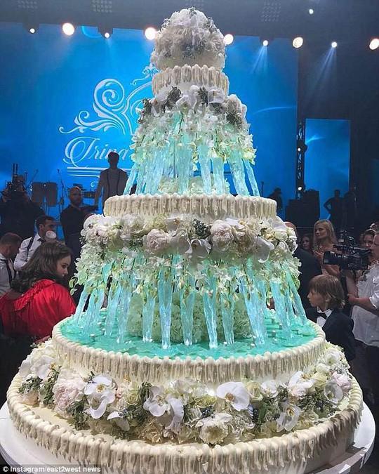 Đám cưới xa hoa, lộng lẫy của con gái tài phiệt Nga 5