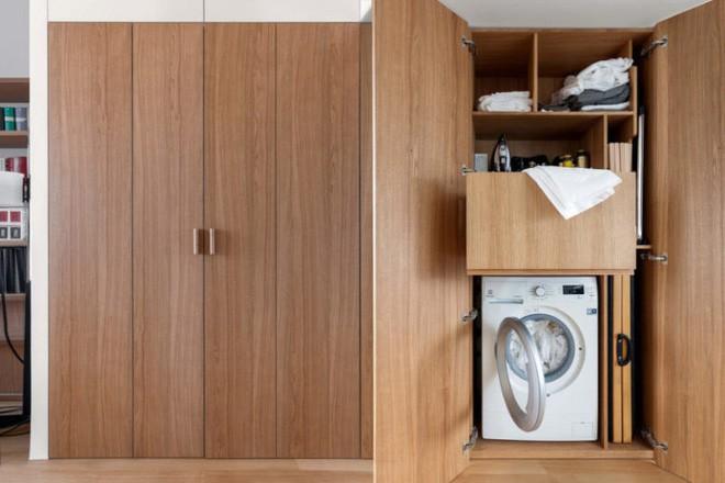 Căn hộ 33m² ấn tượng với những giải pháp tiết kiệm không gian thông minh - Ảnh 9.