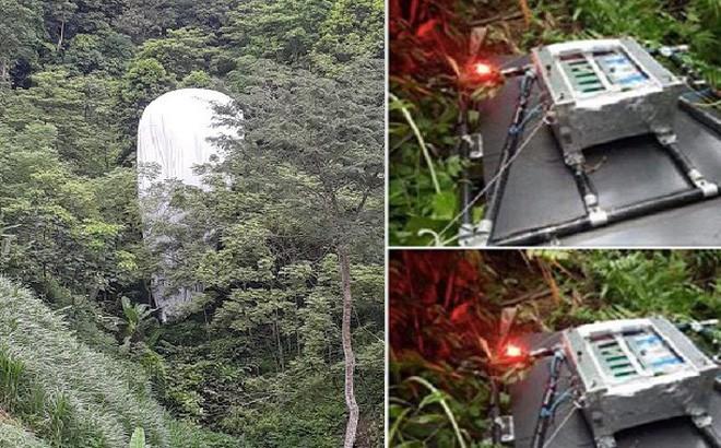 Cơ quan quân sự đã huỷ bỏ vật thể rơi xuống rừng ở Hà Giang 1