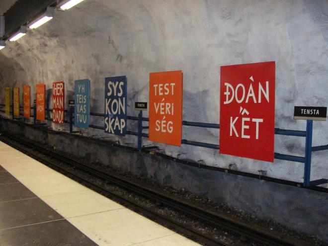 Bên trong những ga tàu điện ngầm đẹp hơn cả triển lãm nghệ thuật tại Thụy Điển 17