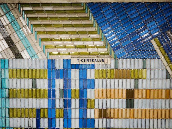 Bên trong những ga tàu điện ngầm đẹp hơn cả triển lãm nghệ thuật tại Thụy Điển 3