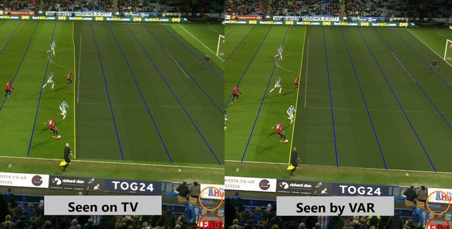 Xem cách công nghệ VAR bắt việt vị World Cup đầy tinh tế, nhìn phát tuýt còi ra ngay lỗi - Ảnh 4.