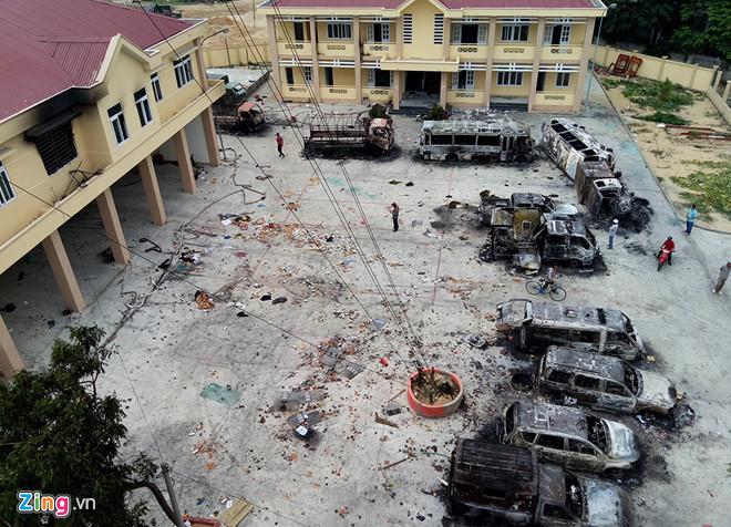 Vụ gây rối, phá trụ sở công quyền tại Bình Thuận: 34 đối tượng bị khởi tố 1