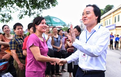 Bộ trưởng Phùng Xuân Nhạ: Sẽ xử lý nghiêm giám thị làm không đúng quy chế, đặc biệt là gian lận 2