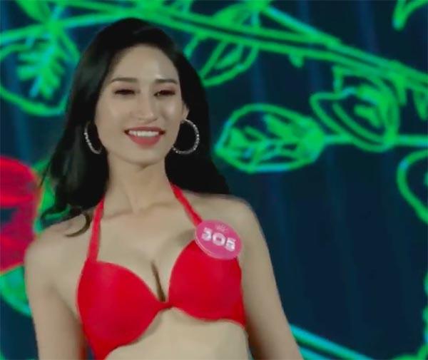 NÓNG: Phát hiện lỗi sai khó tin về 5 người đẹp thi bikini Chung khảo phía Nam Hoa hậu Việt Nam 19