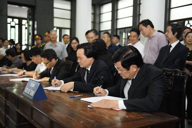 Nguyên Chủ tịch nước Trương Tấn Sang: Một tài năng lớn trong giới sử học nước nhà đã ra đi 2
