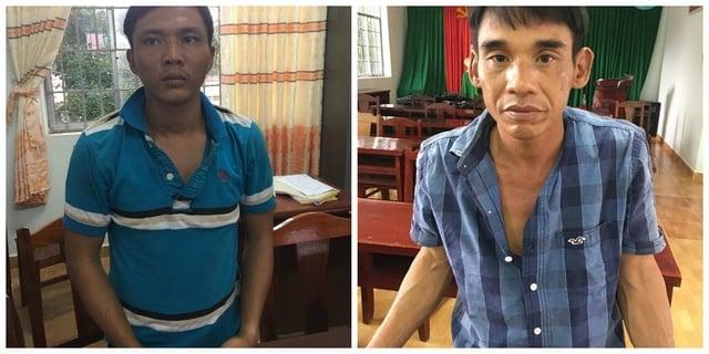 Giật túi xách của du khách nước ngoài, hai tên cướp ngã gãy chân 1