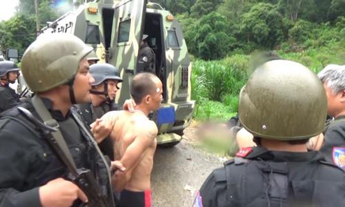 Quái chiêu kiểm soát đàn em của trùm ma túy vừa bị cảnh sát nổ súng, bao vây ở Sơn La 3