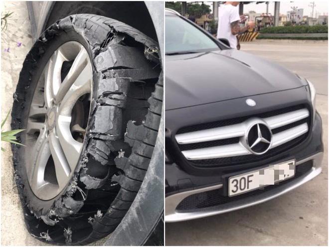 Tài xế cứu hộ đăng đàn tố bị khách đi Mercedes bùng 2,3 triệu đồng: Thay lốp xe xong là chạy mất hút, gọi điện thì khất lần 1