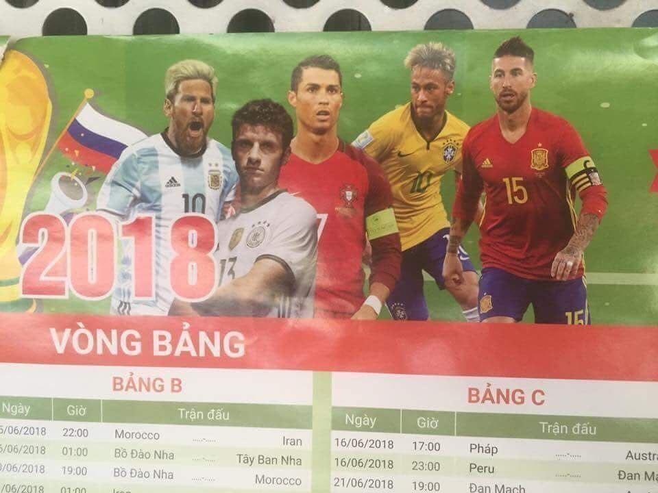 Hình ảnh hot nhất ngày: lịch thi đấu điềm báo về thất bại của các đội bóng lớn tại World Cup, tiếp theo sẽ là Brazil? 1