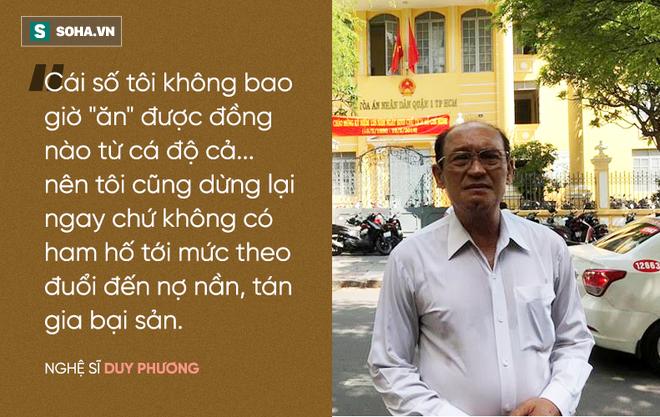 Nghệ sĩ Duy Phương nói gì về thông tin