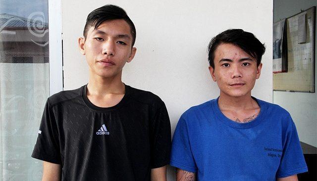 Vờ mua thuốc lá, hai thanh niên táo tợn giật dây chuyền của chủ tiệm tạp hóa 1