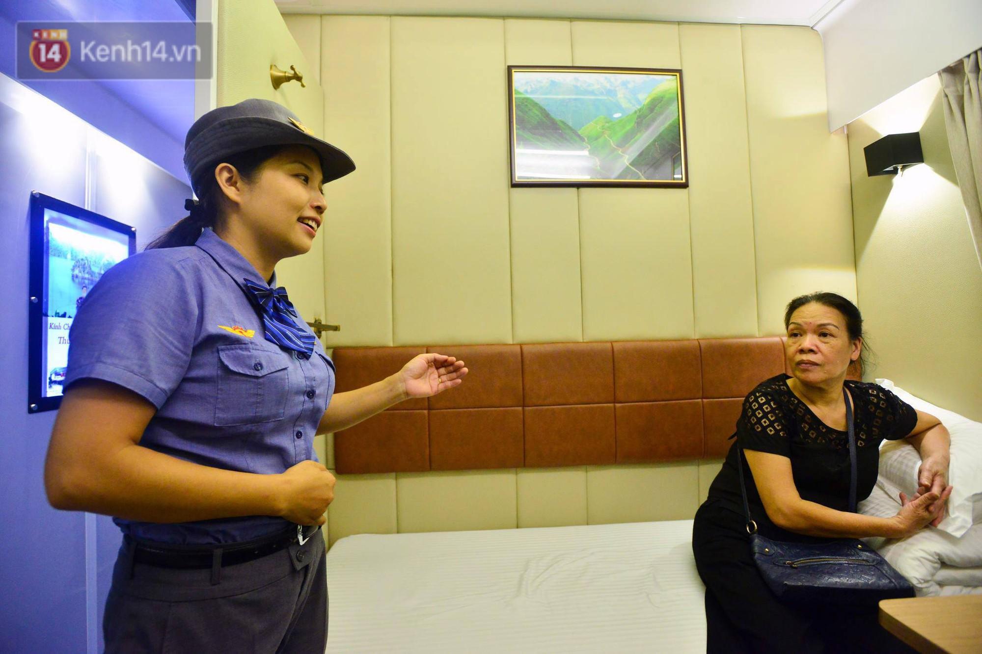 Cận cảnh khoang nằm sang trọng được đưa vào phục vụ trên tuyến đường sắt Bắc - Nam 2
