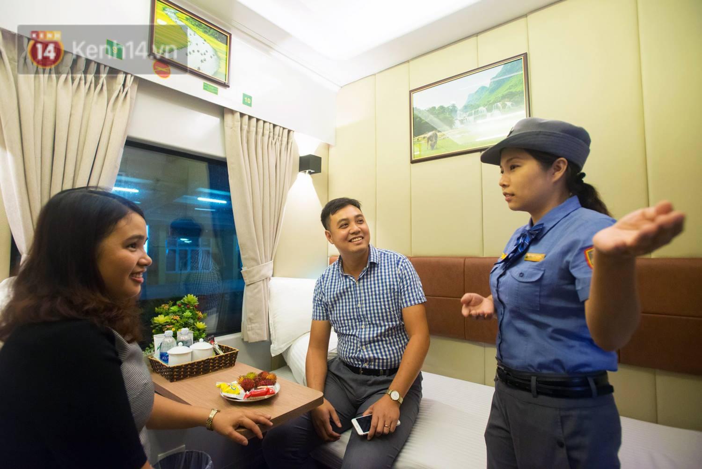 Cận cảnh khoang nằm sang trọng được đưa vào phục vụ trên tuyến đường sắt Bắc - Nam 1