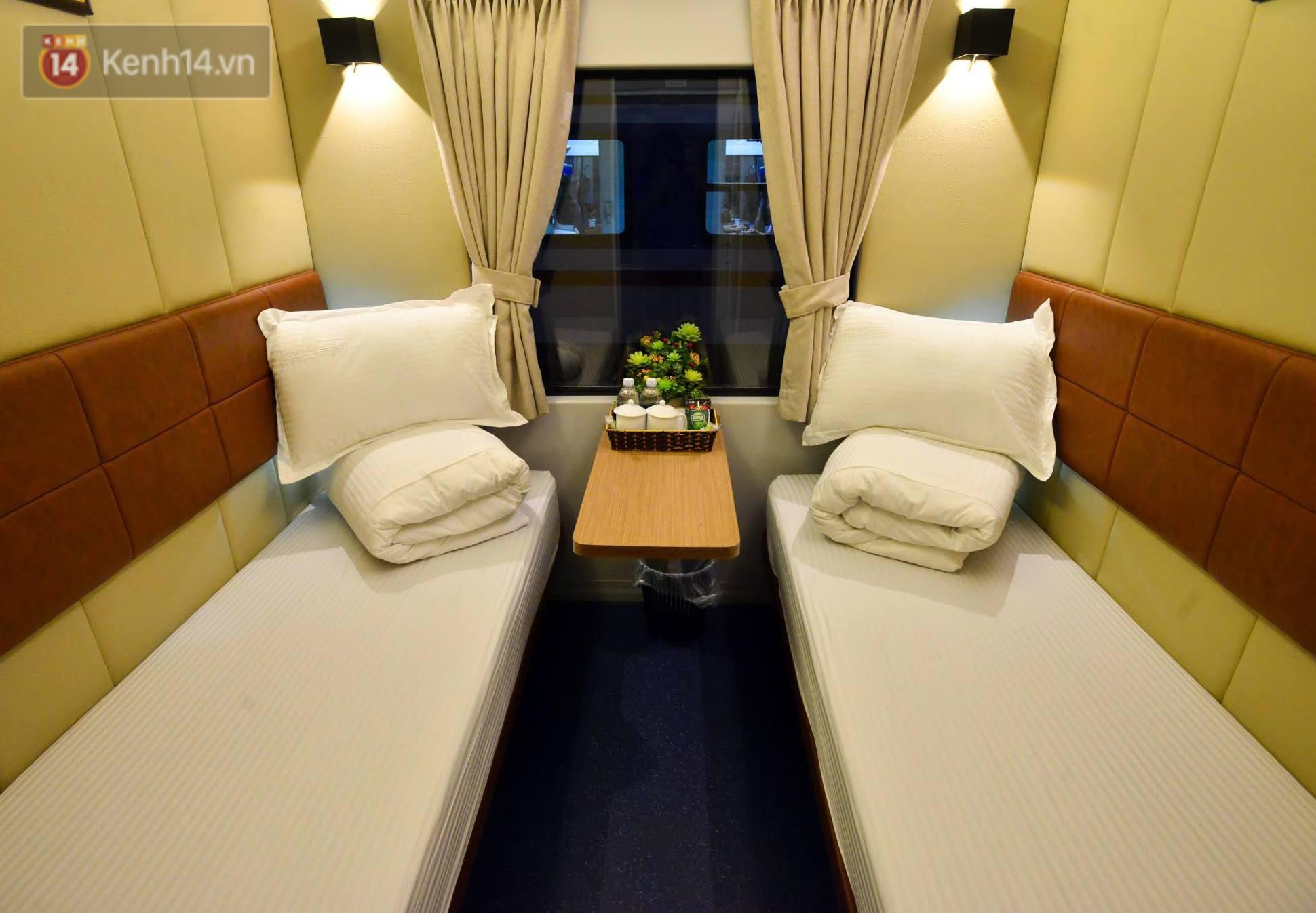 Cận cảnh khoang nằm sang trọng được đưa vào phục vụ trên tuyến đường sắt Bắc - Nam 5
