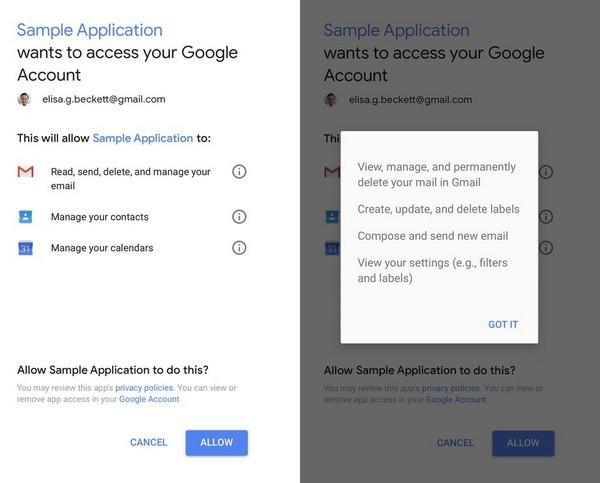 Hình ảnh Google cho phép nhân viên và người ngoài đọc email của người dùng số 1