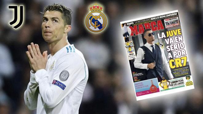 Báo thân Real tràn ngập thông tin Ronaldo trên đường rời Bernabeu 1