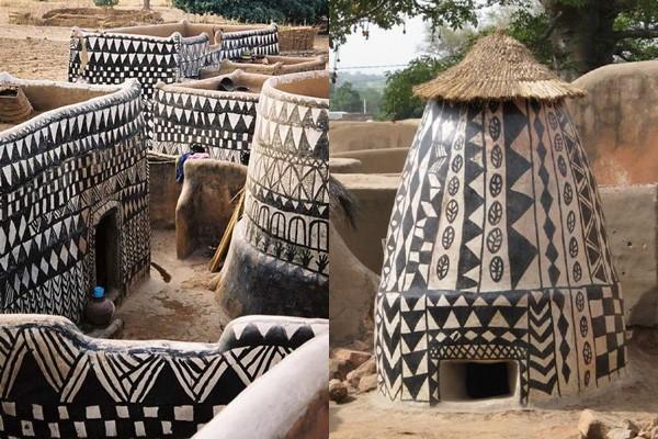 Tiébélé: Ngôi làng cổ được tạo nên từ phân bò, từng căn nhà đều là tác phẩm nghệ thuật tuyệt vời - Ảnh 12.