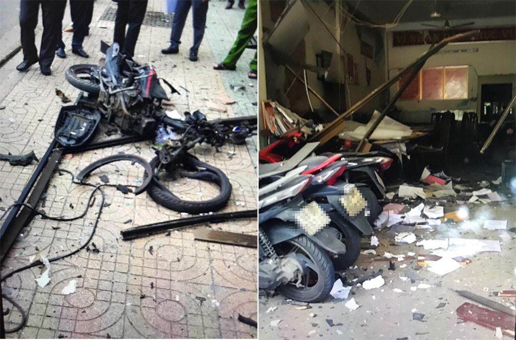Bắt 7 đối tượng vụ khủng bố, gây nổ tại trụ sở công an phường ở TP.HCM 1