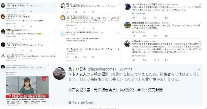 Cộng đồng mạng Nhật Bản tranh cãi về bản án chung thân dành cho kẻ sát hại bé Nhật Linh 1