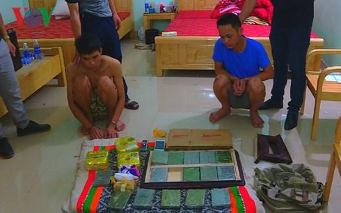 Tiếp tục triệt phá đường dây ma túy cực khủng tại Sơn La 1