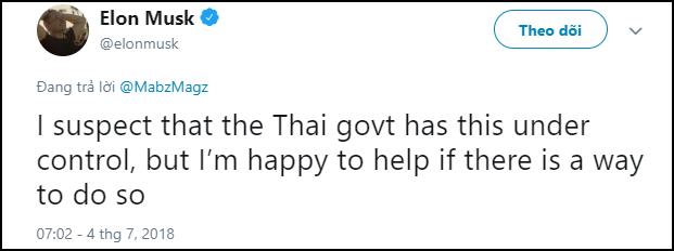Nói là làm, tỉ phú công nghệ Elon Musk cử ngay người đến Thái Lan để hỗ trợ giải cứu đội bóng mắc kẹt trong hang 1