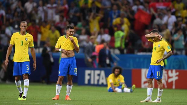 Tạm biệt Neymar! Bỉ loại Brazil khỏi World Cup 2018 2