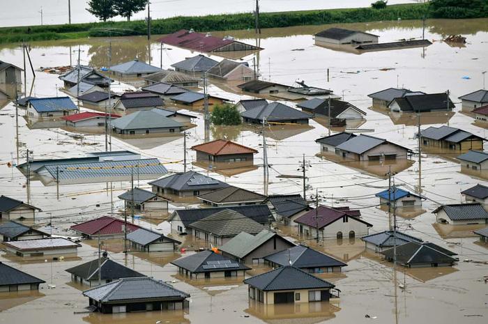Ít nhất 76 người chết vì mưa lớn ở Nhật 2