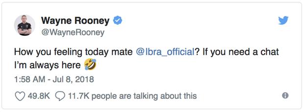 David Beckham, Rooney thi nhau trêu Ibrahimovic sau chiến thắng của đội tuyển Anh 2